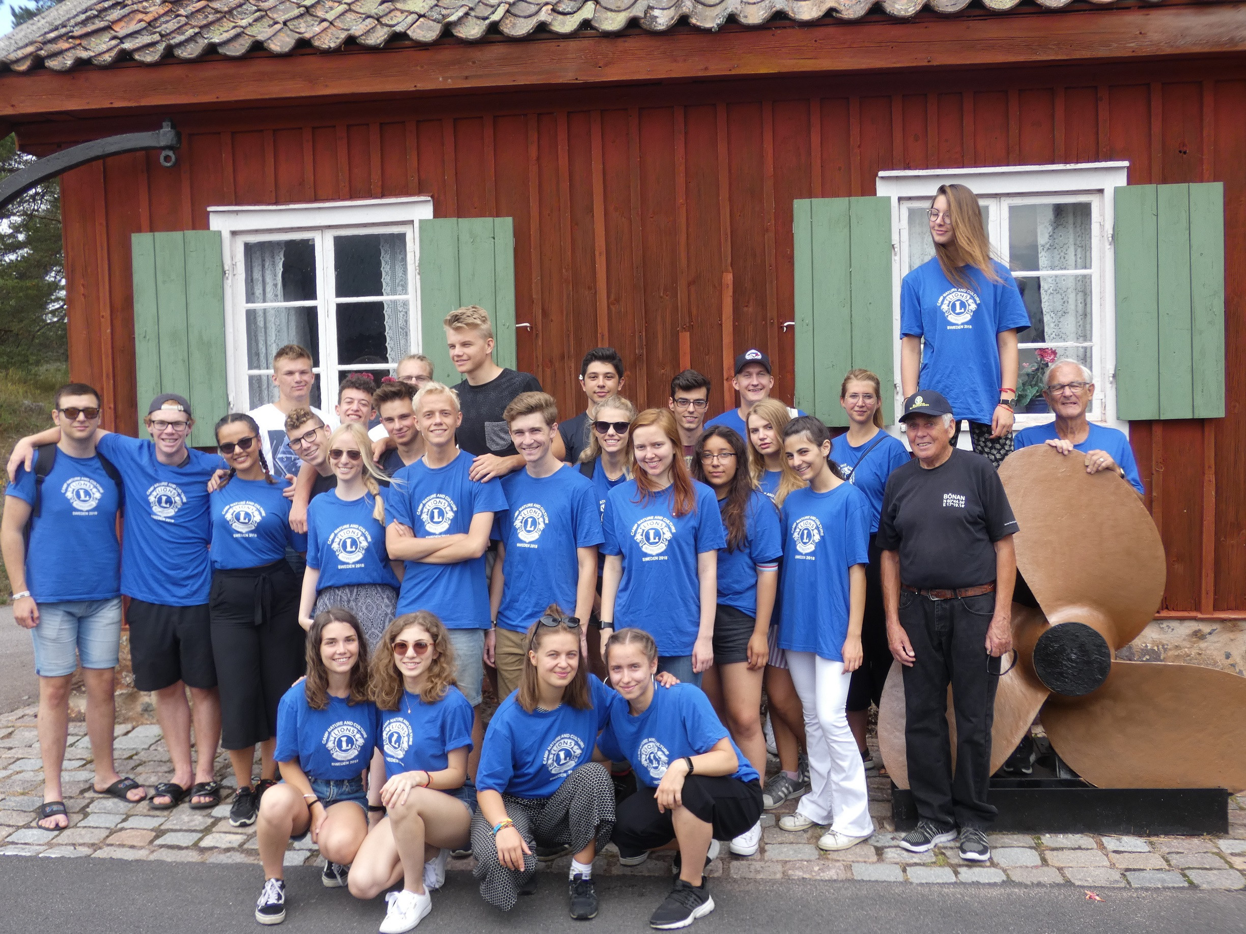 Lions arrange camp for youth from all over Europe in Högbo